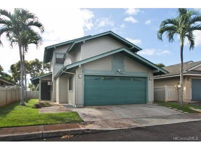 Single Family Home In Escrow Showing: 94-1010 Awalua Street