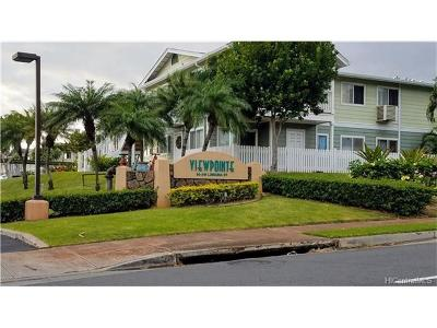 Waipahu Condo/Townhouse For Sale: 94-510 Lumiaina Street #F103