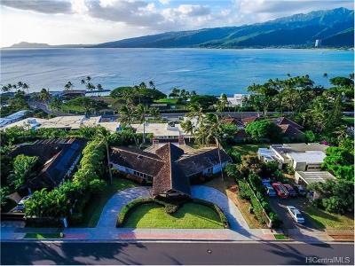 Honolulu County Single Family Home For Sale: 218 Poipu Drive