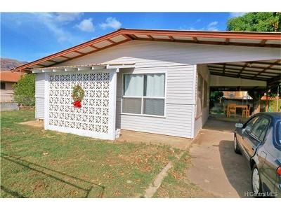 Waianae HI Single Family Home For Sale: $400,000