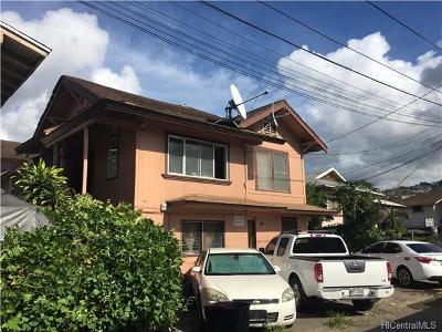 Honolulu Multi Family Home For Sale: 1038 Long Lane