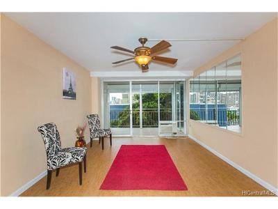 Honolulu Condo/Townhouse For Sale: 1415 Victoria Street #308