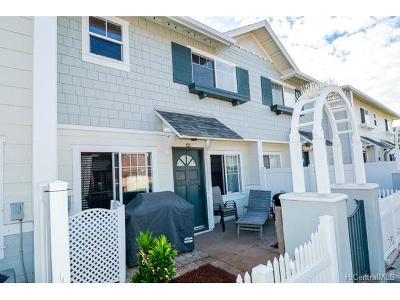 Ewa Beach Rental For Rent: 91-1031 Kaimalie Street #4M3