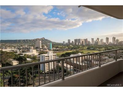 Honolulu Condo/Townhouse For Sale: 2825 S King Street #1803