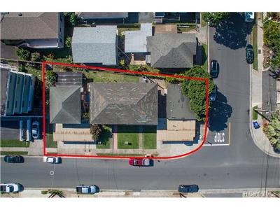 Honolulu Multi Family Home For Sale: 2909 Winam Avenue
