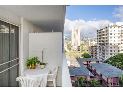 Honolulu Condo/Townhouse For Sale: 2463 Kuhio Avenue #1003