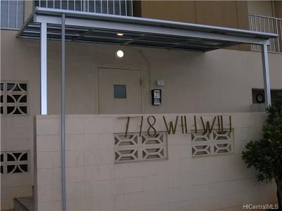 Honolulu Condo/Townhouse For Sale: 778 Wiliwili Street #204