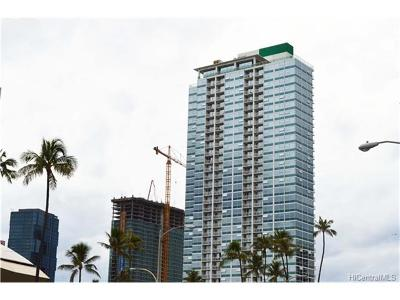 Honolulu Condo/Townhouse In Escrow Showing: 909 Kapiolani Boulevard #706