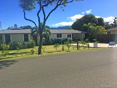 Single Family Home For Sale: 157 Makawao Street