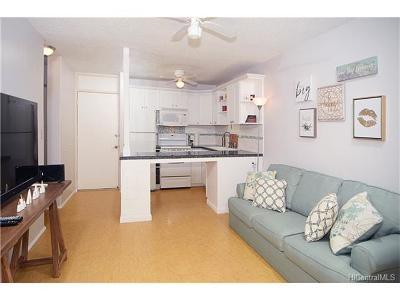 Honolulu Condo/Townhouse For Sale: 814 Kinau Street #405