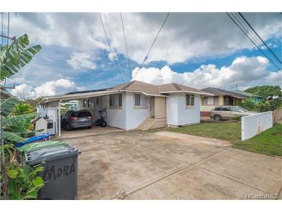 Wahiawa Single Family Home In Escrow Showing: 22 Hill Drive