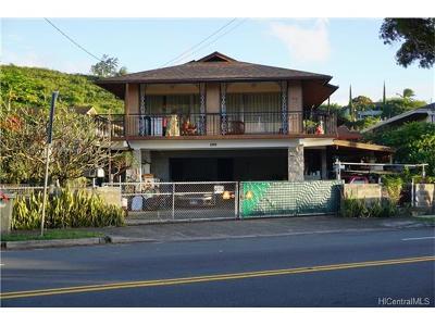 Honolulu HI Single Family Home In Escrow Showing: $788,000