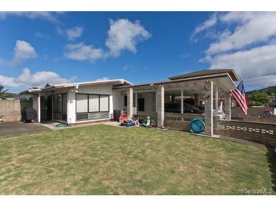 Kailua Single Family Home For Sale: 1358 Nanawale Place