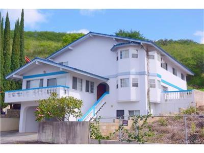 Aiea Single Family Home For Sale: 98-435 Pono Street