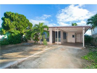 Ewa Beach Single Family Home In Escrow Showing: 91-823 Lawalu Place