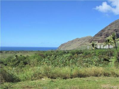 Waianae Residential Lots & Land In Escrow Showing