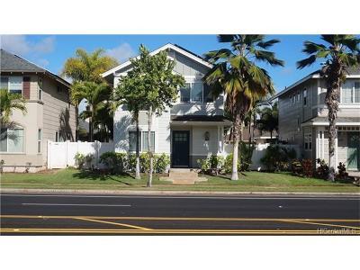 Ewa Beach Single Family Home In Escrow Showing: 91-6442 Kapolei Parkway
