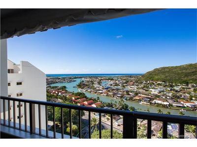 Honolulu County Condo/Townhouse For Sale: 6710 Hawaii Kai Drive #1712