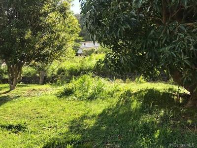 Honolulu County Residential Lots & Land For Sale: 3005 Kalawao Street #0002