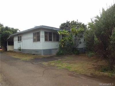 Haleiwa Single Family Home For Sale: 66-218 Kamehameha Highway #B