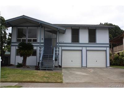 Mililani Single Family Home In Escrow Showing: 94-150 Puanane Loop