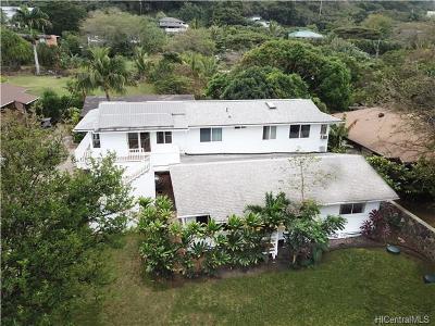 Haleiwa Single Family Home For Sale: 59-646 Kamehameha Highway