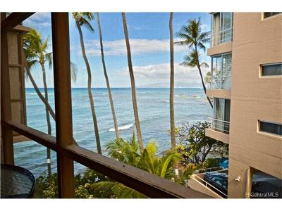 Honolulu County Condo/Townhouse For Sale: 2987 Kalakaua Avenue #404