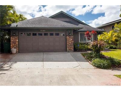 Kapolei Single Family Home For Sale: 92-6062 Kohi Street