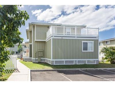 Waianae Condo/Townhouse For Sale: 87-176 Maipalaoa Road #P36