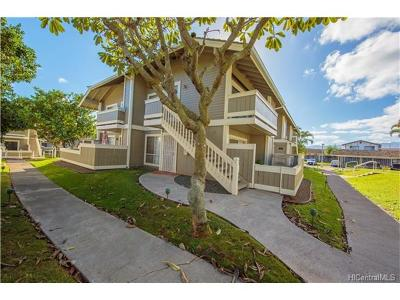 Waipahu Condo/Townhouse For Sale: 94-1431 Kulewa Loop #U