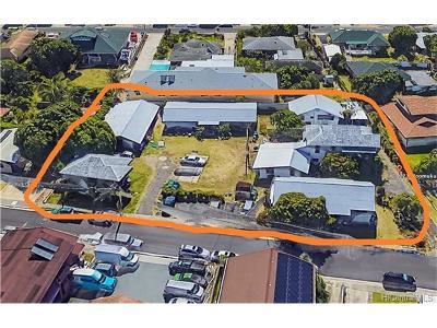 Honolulu Multi Family Home For Sale: 221 Moomuku Place