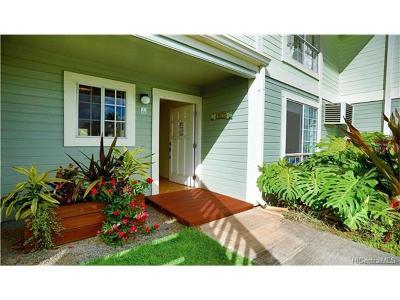 Waipahu Condo/Townhouse For Sale: 94-1467 Waipio Uka Street #T104