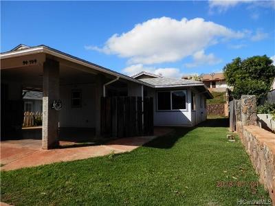 Waipahu Single Family Home For Sale: 94-749 Kaiao Street