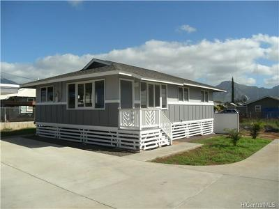 Waianae Single Family Home For Sale: 87-602 Farrington Highway #B