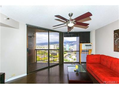 Honolulu Condo/Townhouse For Sale: 60 N Beretania Street #2304