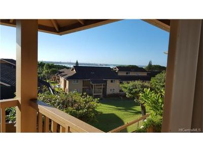 Pearl City Condo/Townhouse In Escrow Showing: 98-1390 Koaheahe Place #147