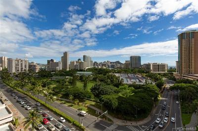 Honolulu Condo/Townhouse In Escrow Showing: 1860 Ala Moana Boulevard #1300