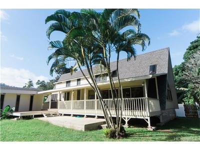 Laie Single Family Home For Sale: 55-161c Kamehameha Highway