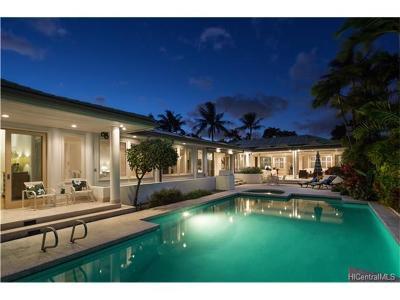 Single Family Home For Sale: 4657 Aukai Avenue