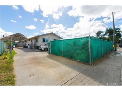Waianae Single Family Home For Sale: 85-974 Farrington Highway