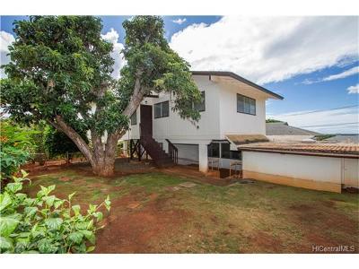 Pearl City Single Family Home For Sale: 947 Puu Kula Drive