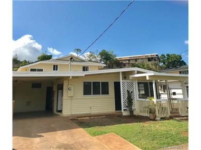 Waipahu Single Family Home For Sale: 94-525 Awamoi Street