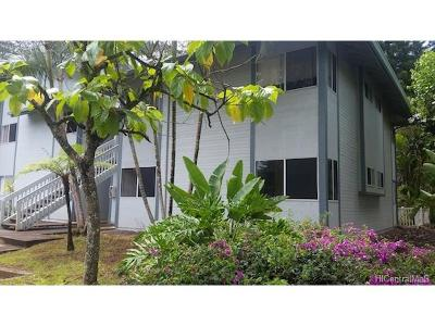 Mililani Condo/Townhouse For Sale: 95-781 Wikao Street #A106