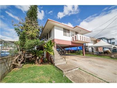 Waipahu Multi Family Home In Escrow Showing: 94-350 Pupumomi Street