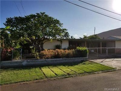 Waianae Single Family Home For Sale: 86-050 Alta Street