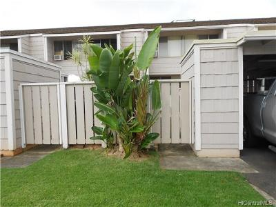 Mililani Condo/Townhouse In Escrow Showing: 94-342 Hokuala Street #103