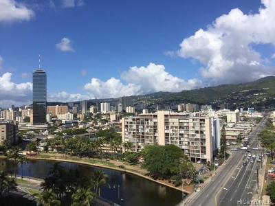 Honolulu Condo/Townhouse For Sale: 1909 Ala Wai Boulevard #1402