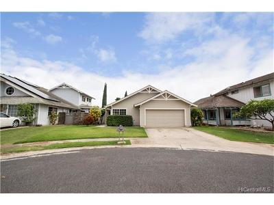 Kapolei Single Family Home For Sale: 91-225 Makahou Place