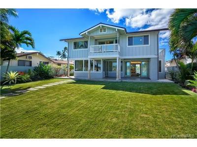 Single Family Home For Sale: 7042 Kalanianaole Highway