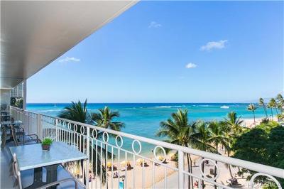 Hawaii County, Honolulu County Condo/Townhouse For Sale: 2161 Kalia Road #502